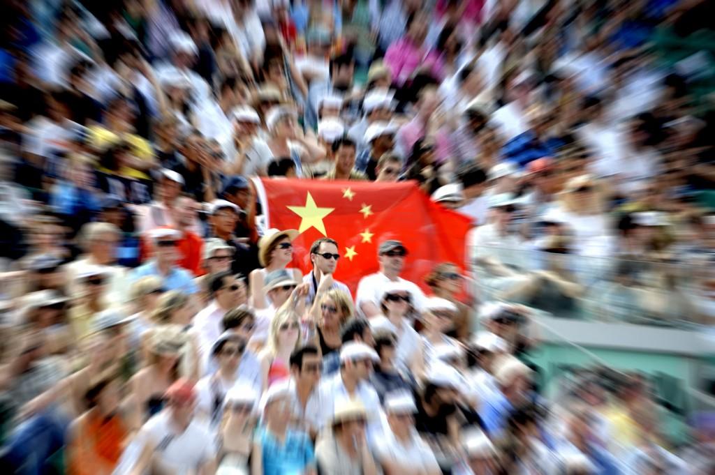 Le public chinois est de plus en plus présent dans les gradins de Roland Garros
