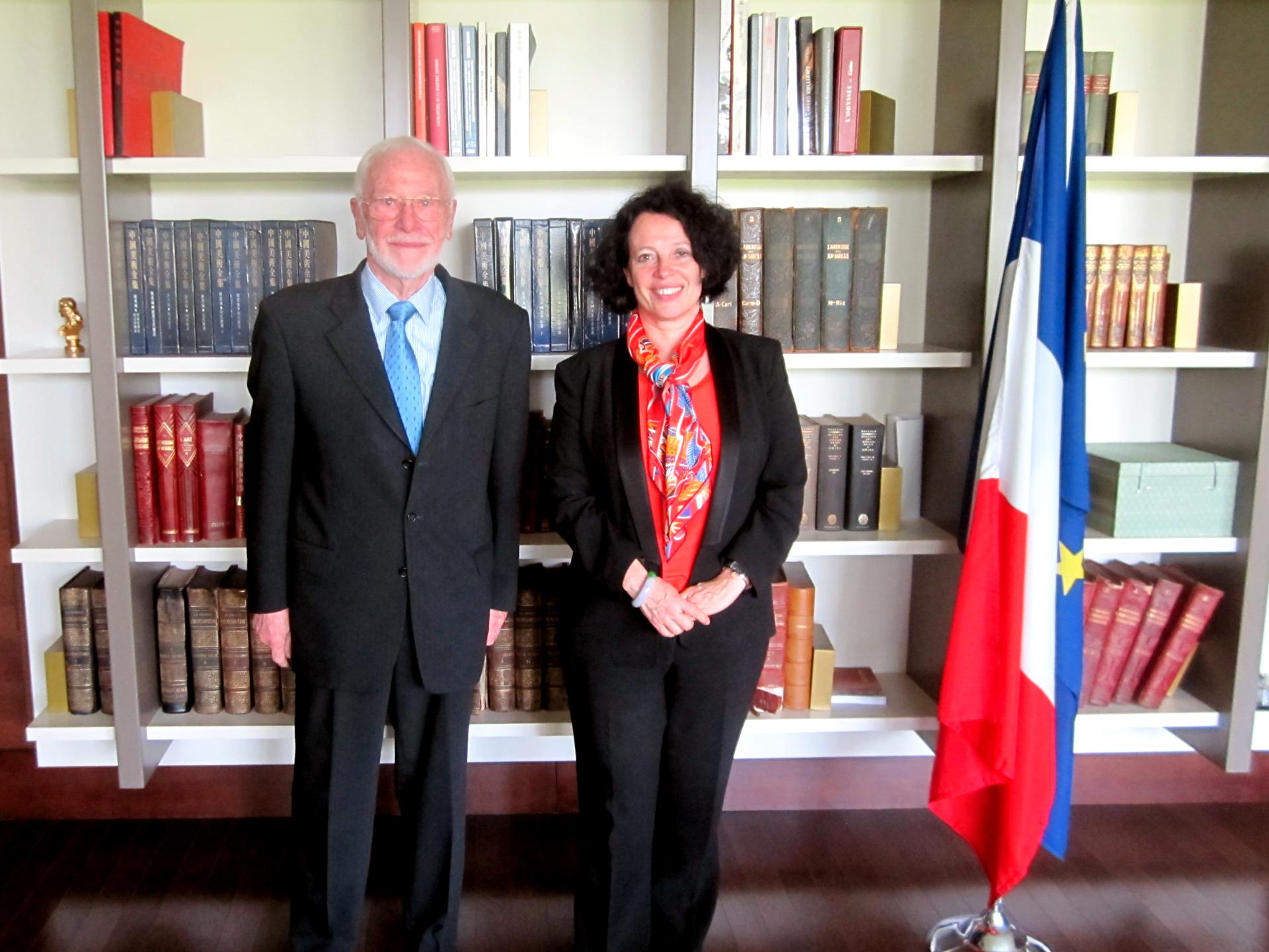 Jacques van Minden <span> Président du Cercle Franco-Chinois</span>