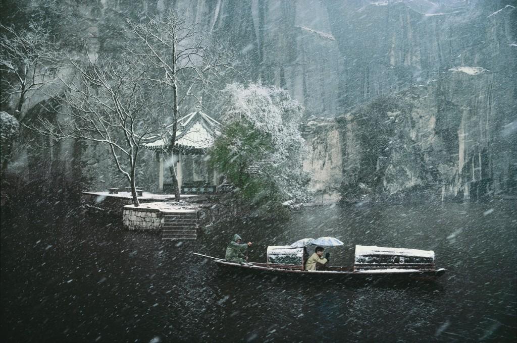 Le lac de l'Est à Shaoxing (Zhejiang), 1996